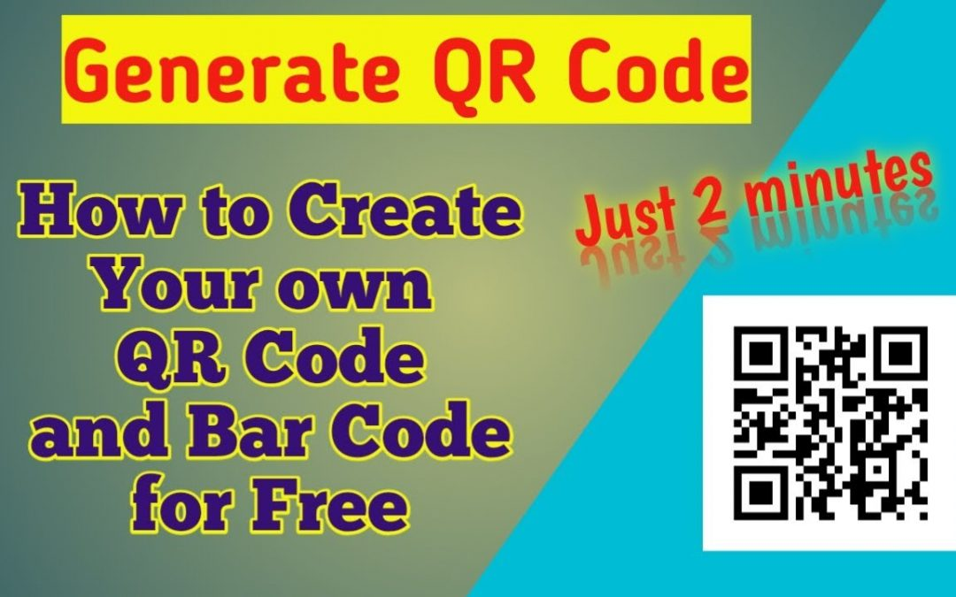 How to create your own QR Code and Barcode