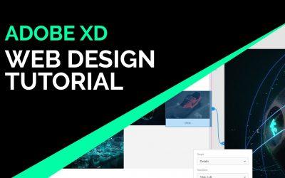 Do It Yourself – Tutorials – Adobe XD Web Design Tutorial