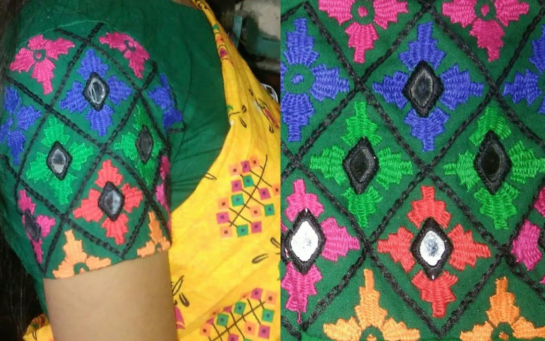 All over design for dress || Latest hand embroidery all over design stitching tutorial ||