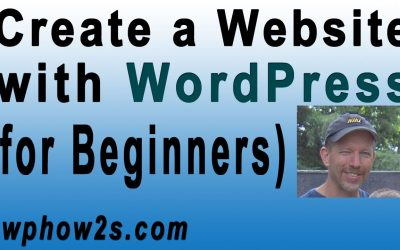 Do It Yourself – Tutorials – Beginners WordPress Tutorial   How to Create a Website with WordPress   Step-by-Step Video Tutorial