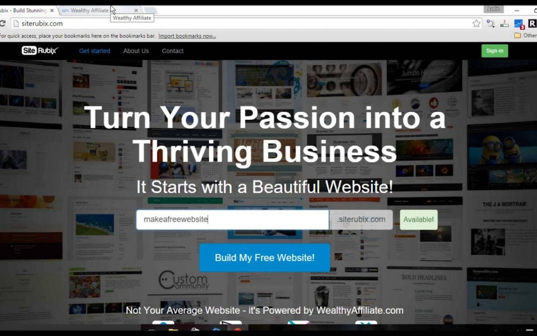Build Your Own Free Website
