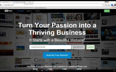 Do It Yourself – Tutorials – Build Your Own Free Website