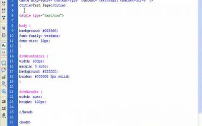 Do It Yourself – Tutorials – CSS Tutorial to build your own CSS website – Part 1
