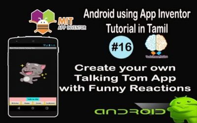 Do It Yourself – Tutorials – Create your own Talking Tom App with funny reactions   Android Tutorial in Tamil   Tutorial #16
