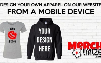 Do It Yourself – Tutorials – Design Your Own Tees Hoodies Tanks Joggers and more Apparel on our website from your mobile device