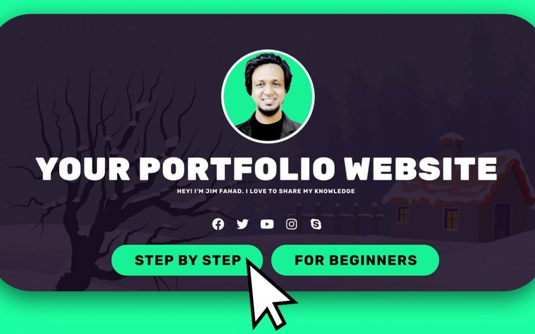 [Easy Steps] How to Make a Personal Portfolio / Resume Website 2020 | Wordpress Elementor Tutorial