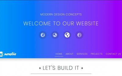 Do It Yourself – Tutorials – HTML & CSS Website Design – Sticky Dropdown Menu – Built with HTML5, CSS3, Bootstrap 4, & VS Code