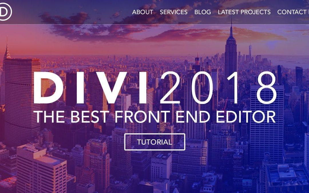How To Create A Wordpress Website   Divi Theme