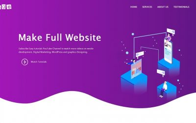 Do It Yourself – Tutorials – how to make a website because we are PROFESSIONALS