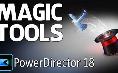 Do It Yourself – Tutorials – How to Find Magic Tools in PowerDirector   CyberLink PowerDirector 17 & 18