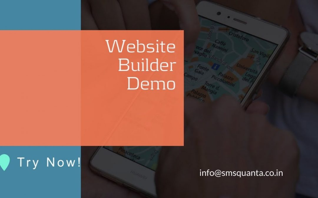 How to make Website for own company or eCommerce using website builder in 2 mins?