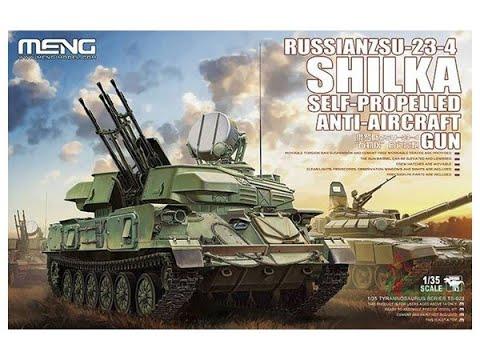 MENG : Russian ZSU-23-4 Shilka : 1/35 Scale Model : In Box Review