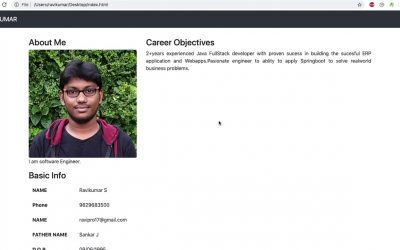 Do It Yourself – Tutorials – Own web profile creation   part 5