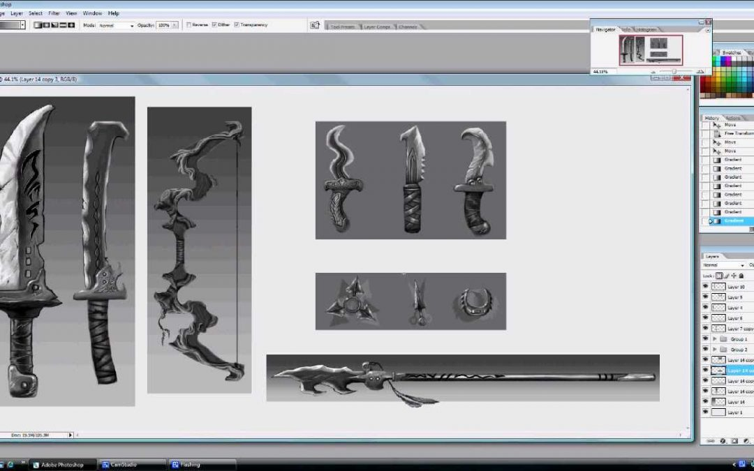 Photoshop Tutorial:Develop Your own Process