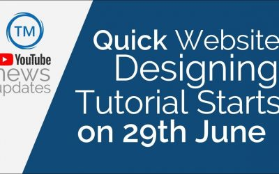 Do It Yourself – Tutorials – Website Designing Tutorial Hindi 2020 Starts on 29th June