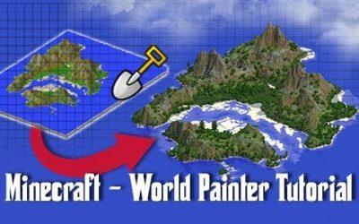 Do It Yourself – Tutorials – World Painter TUTORIAL – How To Create Custom Minecraft Maps!