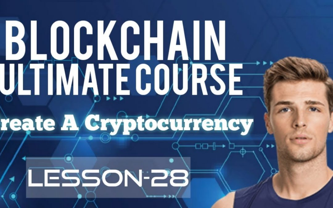 create a cryptocurrency - creating a cryptocurrency in python [full Tutorial] Own cryptocurrency #28