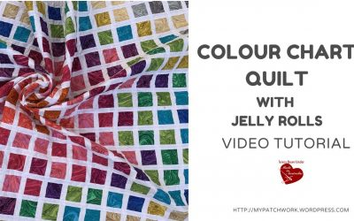 WordPress For Beginners – Colour chart quilt – video tutorial