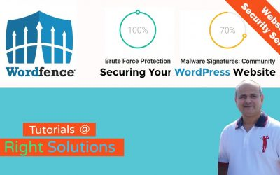 WordPress For Beginners – How To Secure Your WordPress Website  – Wordfence Security Plugin Tutorial