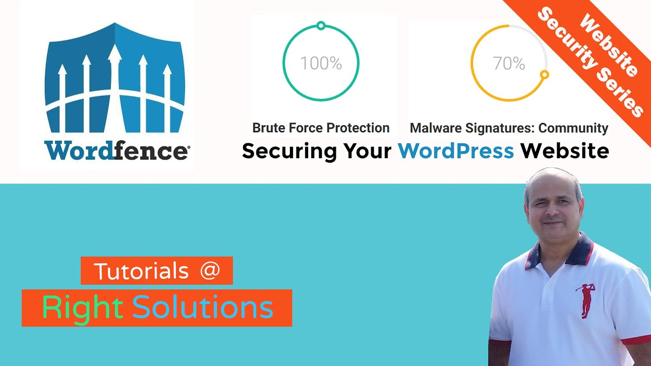 How To Secure Your WordPress Website  - Wordfence Security Plugin Tutorial