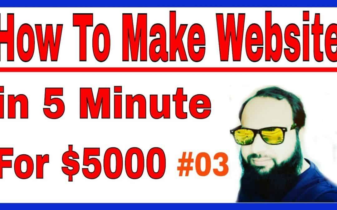 How to Make a WordPress Website | Easy Tutorial in Urdu | Hindi #03