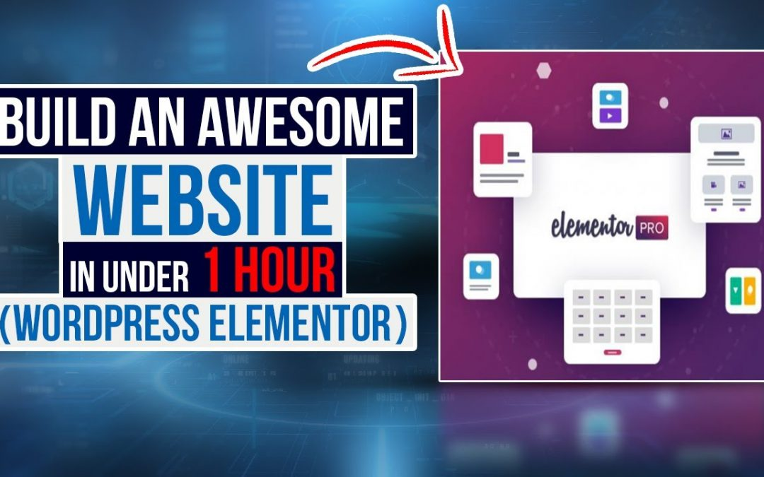How to build a Wordpress Website in 1 hour for beginners 2020