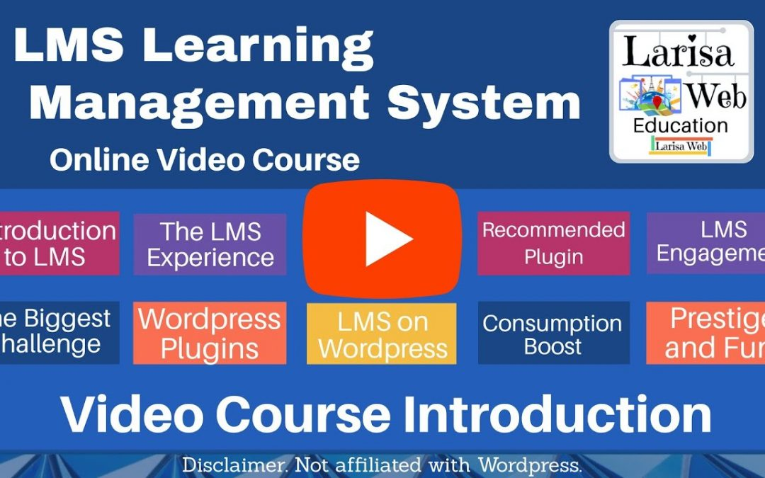 WordPress For Beginners – LMS Learning Management System WordPress Video Tutorial