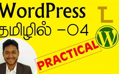 WordPress For Beginners – WordPress Tamil Tutorial Part 04 – Homepage & Slider Techiyal