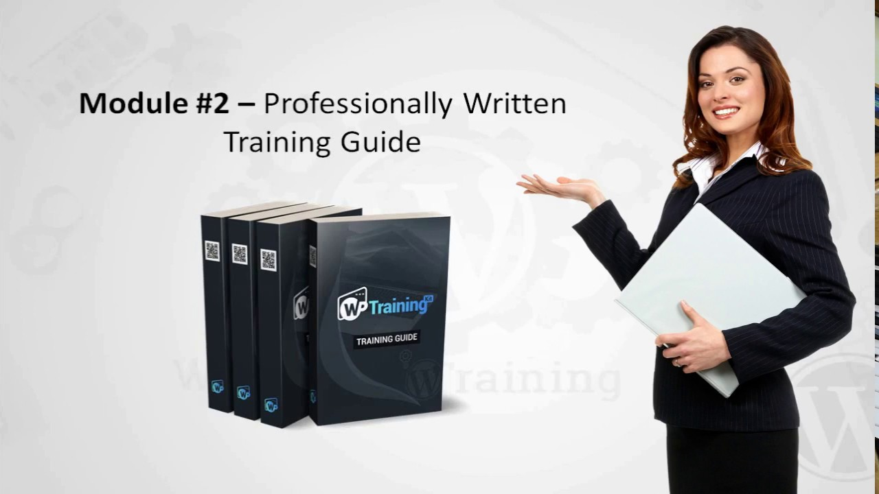 WordPress Training Kit - Comprehensive Video and Step-by-step Training Courses
