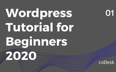 WordPress For Beginners – WordPress Tutorial for Beginners 2020
