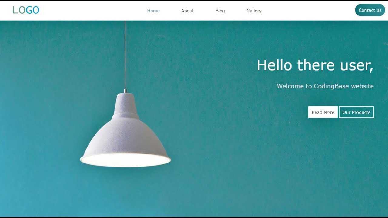 Building a Landing Page in HTML and CSS