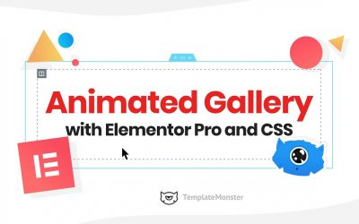 How To Create Animated Gallery with Elementor Pro and Custom CSS