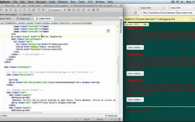 Live edit HTML, CSS and JavaScript
