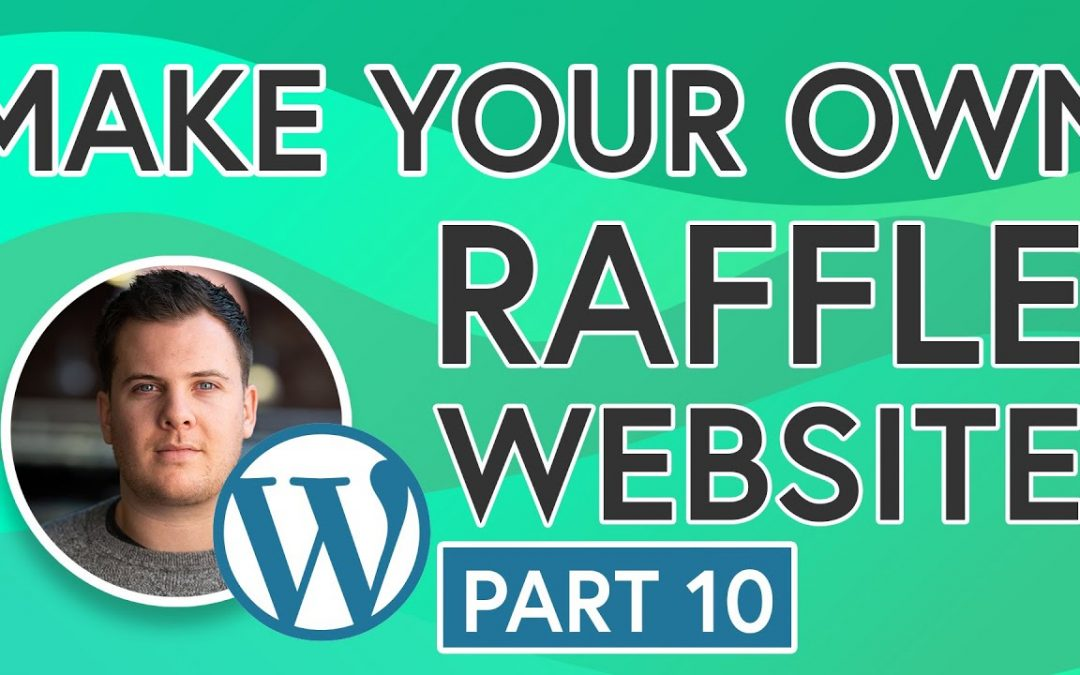 Easily Build Your Own Raffle Website [PART 10] - Google Analytics, SEO, Email Marketing Integration