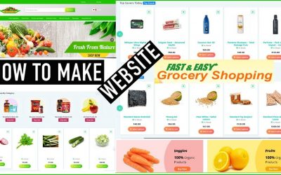 Do It Yourself – Tutorials – How to Make a Website? || eCommerce Website || Grocery Store Apps By Capital Tech