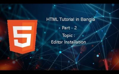 Do It Yourself – Tutorials – HTML Bangla Tutorial – 2020 | HTML Full Bangla Course For Beginners 2020 | Part – 2