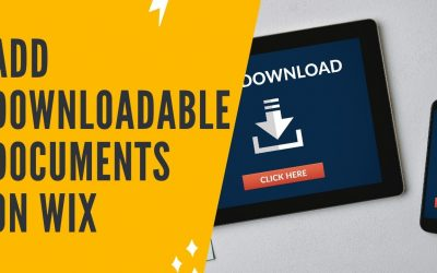 Do It Yourself – Tutorials – ADDING DOWNLOADABLE DOCUMENTS ON WIX
