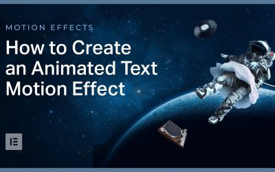 Do It Yourself – Tutorials – Advanced Tutorial: How to Create an Animated Text Effect in Elementor