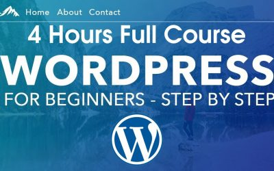 Do It Yourself – Tutorials – Create Make a WordPress Website Step by Step | Full 3 Hours WordPress Tutorial