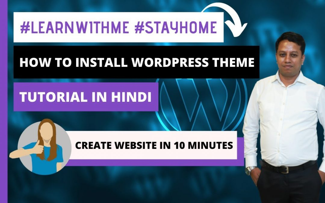 Create Your Own Website in 10 Minutes - Install WP, Theme and DEMO Content #LearnWithMe #StayHome