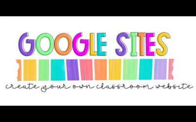 Do It Yourself – Tutorials – Create a Classroom Website Using Google Sites