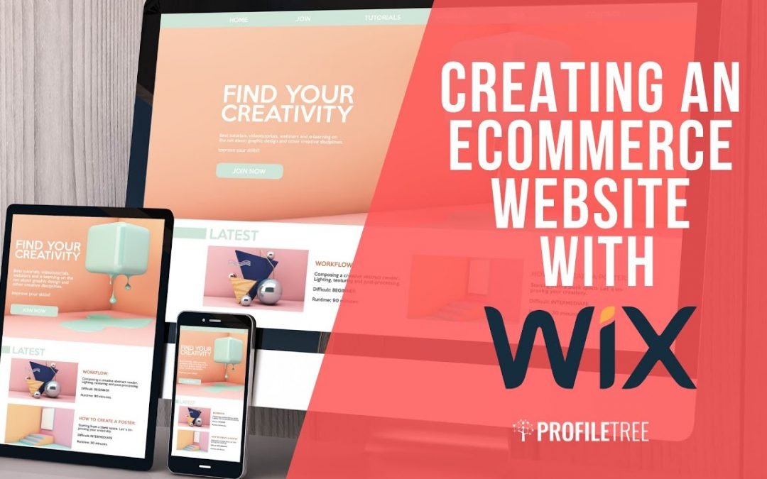 Creating an eCommerce Website with Wix - Wix Tutorial - Wix Tutorial for Beginners - Wix eCommerce