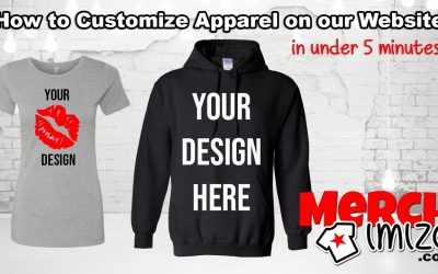 Do It Yourself – Tutorials – Design Your Own Tees Hoodies Tanks Joggers and More apparel on Merchimize
