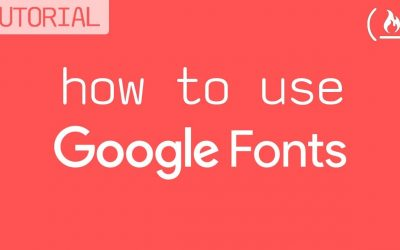 Do It Yourself – Tutorials – Google Fonts Tutorial: Add custom fonts to your website