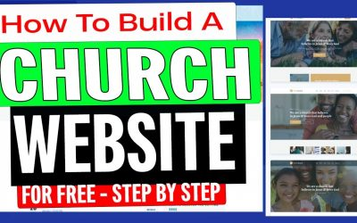 Do It Yourself – Tutorials – How To Build A Church Website For Free 2020 [ Step-By-Step Tutorial ]