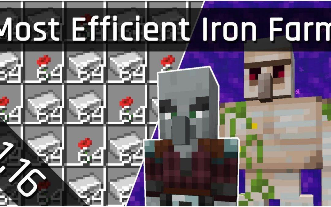 Do It Yourself – Tutorials – How To Build an Efficient Iron Farm Tutorial | Minecraft Java 1.16 (The Nether Update)