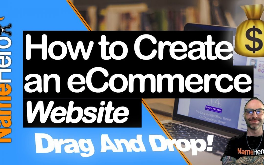 How To Easily Make An E-Commerce Website For Beginners - Drag And Drop To Create An Online Store