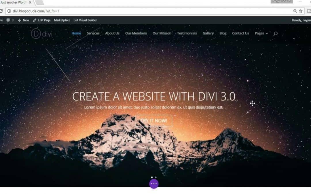How To Make A WordPress Website 2020 – Divi Tutorial