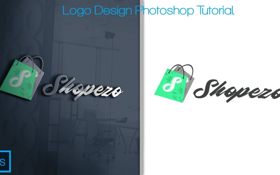 How to Design Your Own Logo Shop For FREE  Tutorial