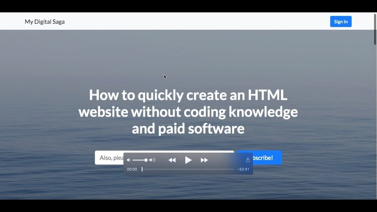 How to Quickly Create an HTML Website without Coding Knowledge and a Paid Software [FOR BEGINNERS]